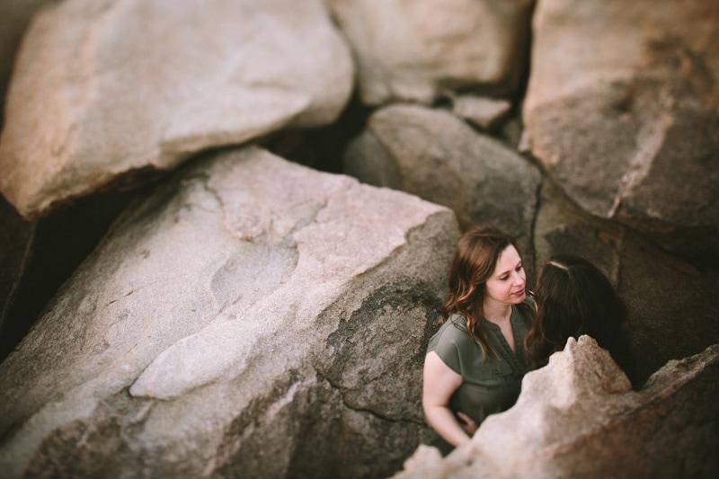 rocks at Joshua Tree