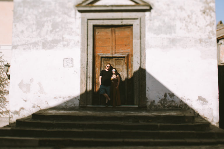 Calcata Italy Engagement Session