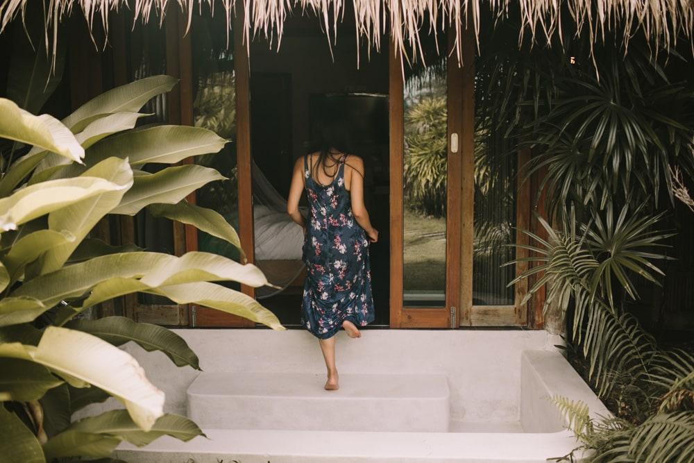 zensala resort hut