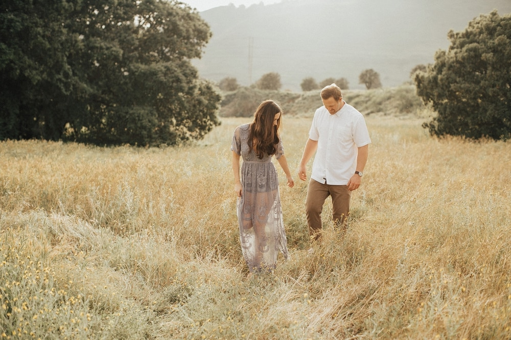 sunny orange county engagement