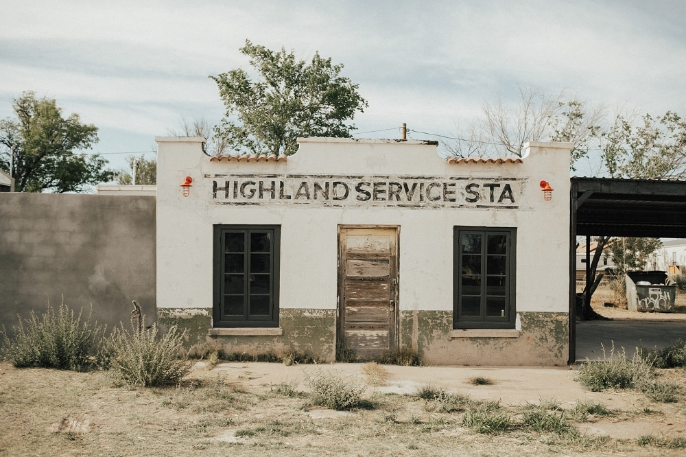 highland service station marfa