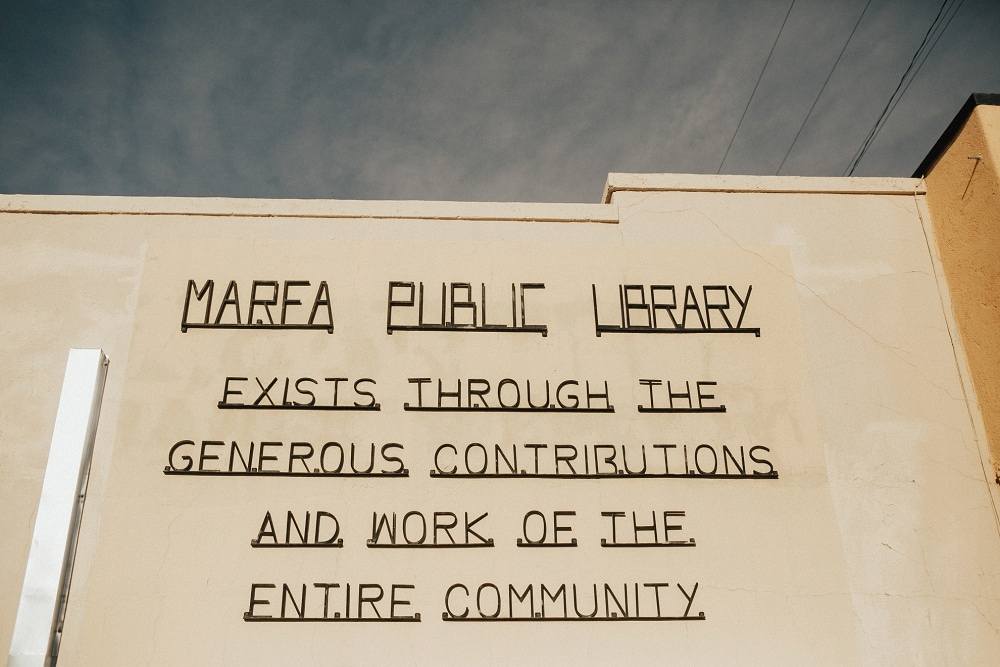 marfa public library