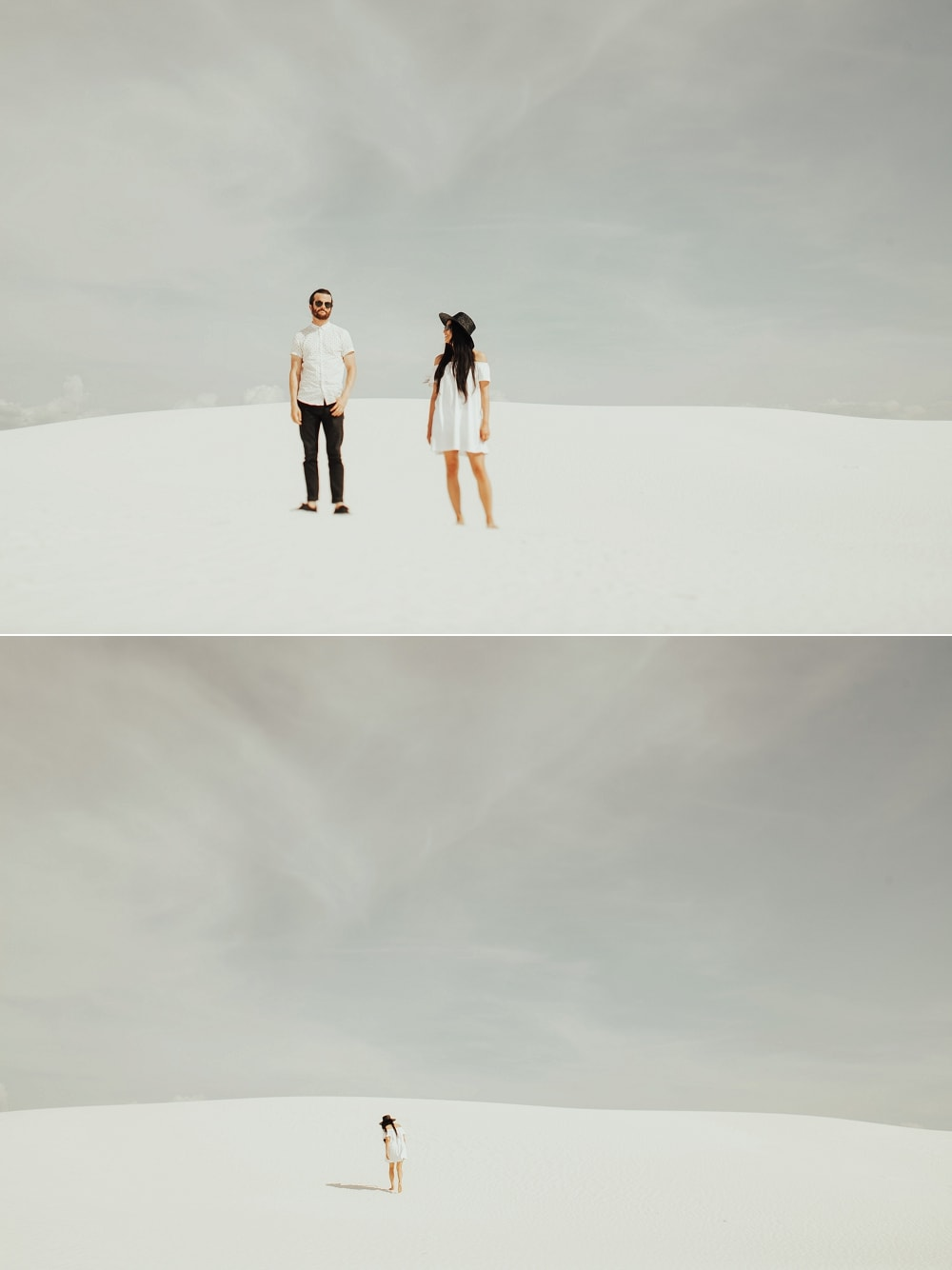 white sands national park couple
