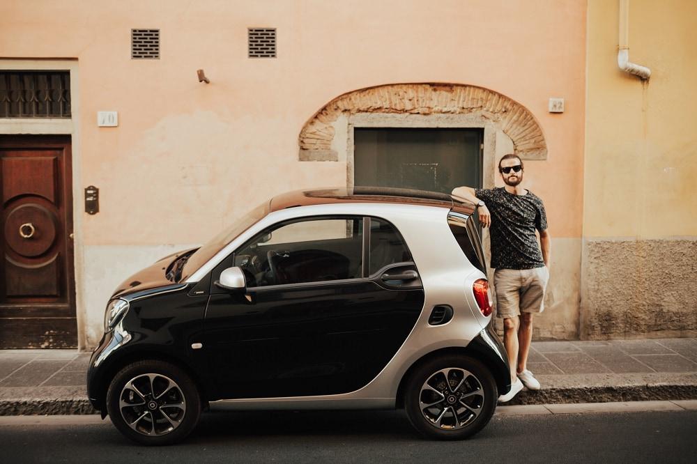 smart car in italy