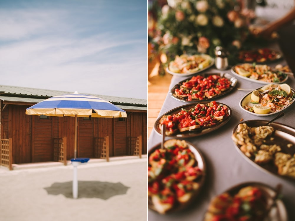 la spiaggeta wedding brunch