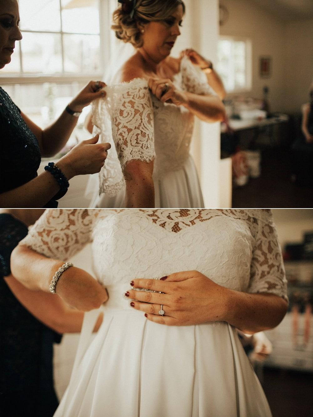 lace topper dress