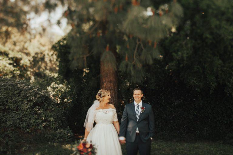 orange county backyard summer wedding