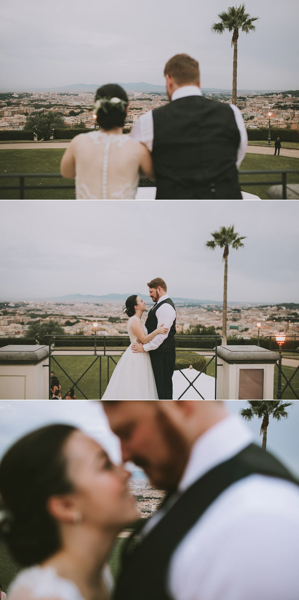 wedding portraits at villa miani