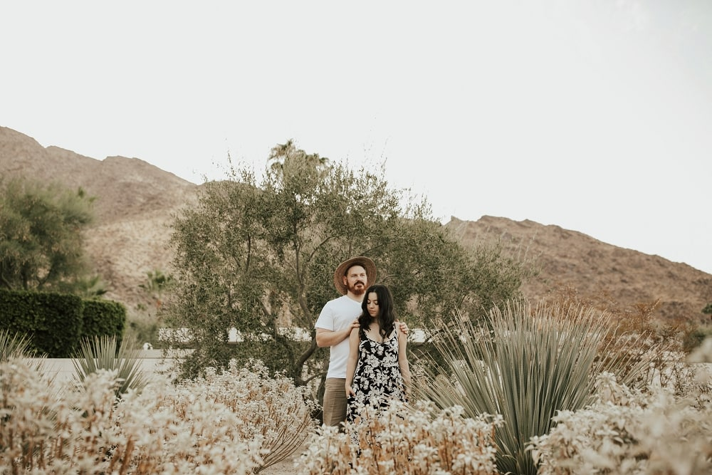 palm springs couple session