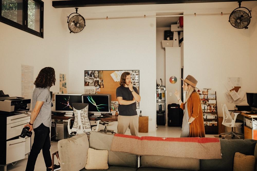 Joe+Kathrina photographers behind the scenes