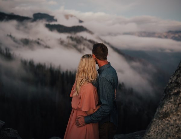 Sequoia National Park , Moro Rock Couple Session