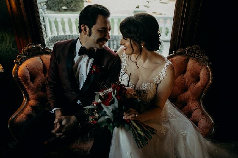Kellog House wedding portraits
