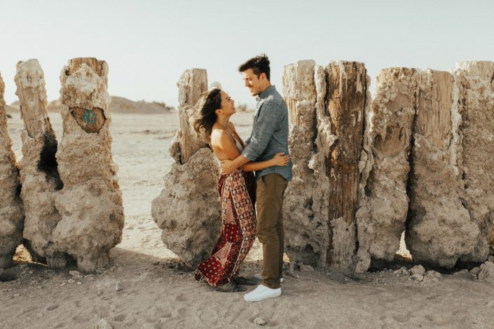bombay beach salton sea engagement