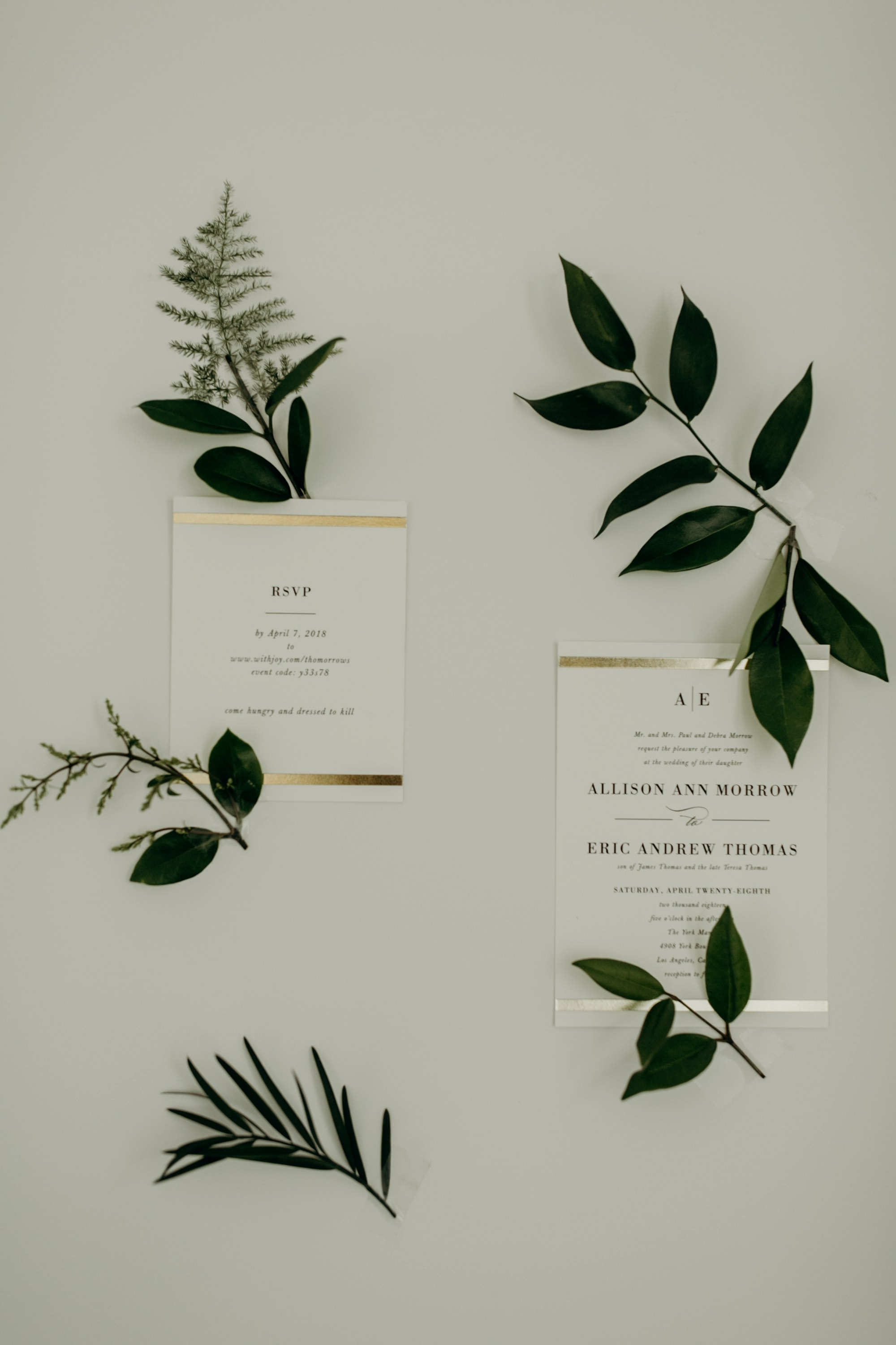 simple elegant wedding invitations from minted