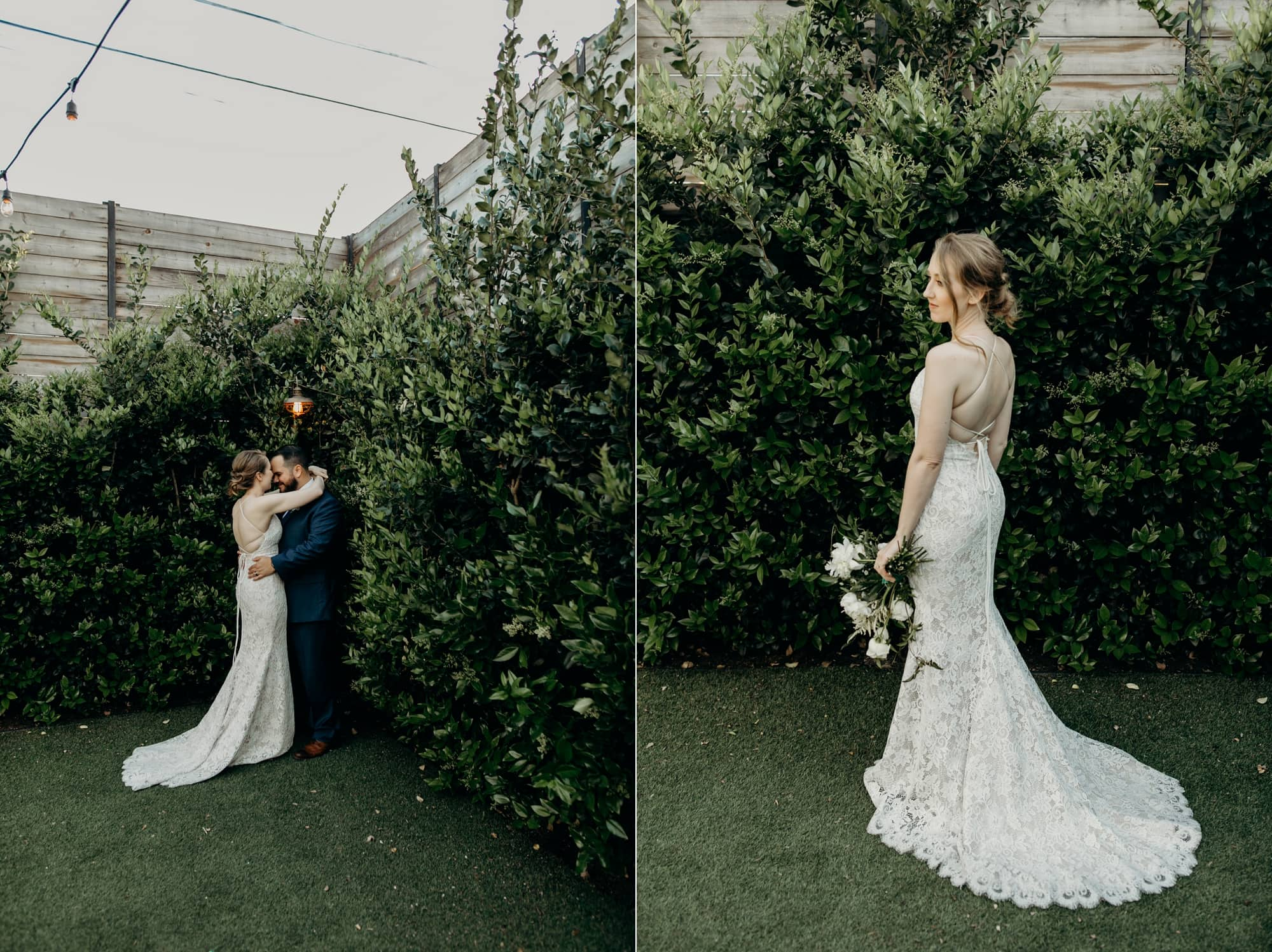 wedding portraits at the york manor los angeles
