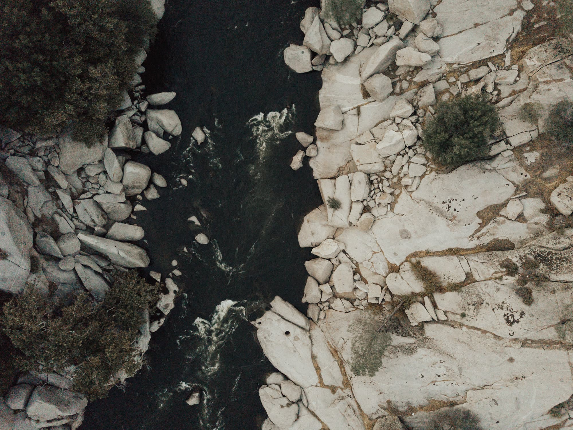aerial of kern river
