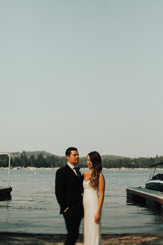 wedding at lake arrowhead