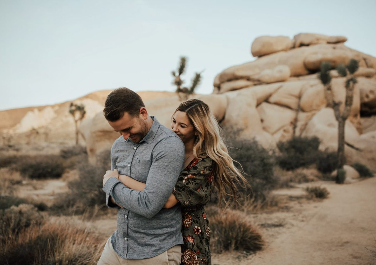 joshua tree engagement orange county wedding photographers