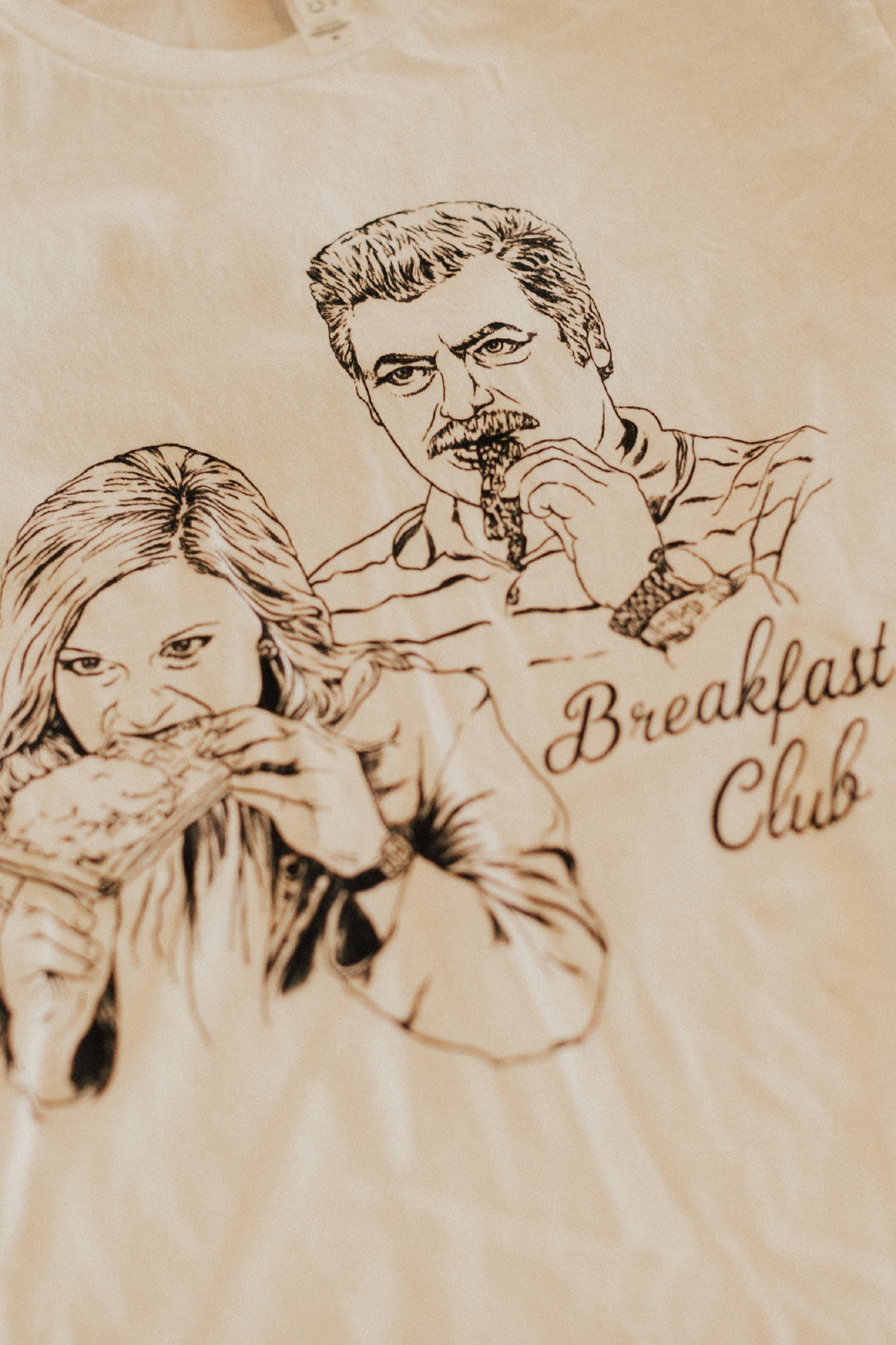 Parks and Rec Breakfast Club tshirt
