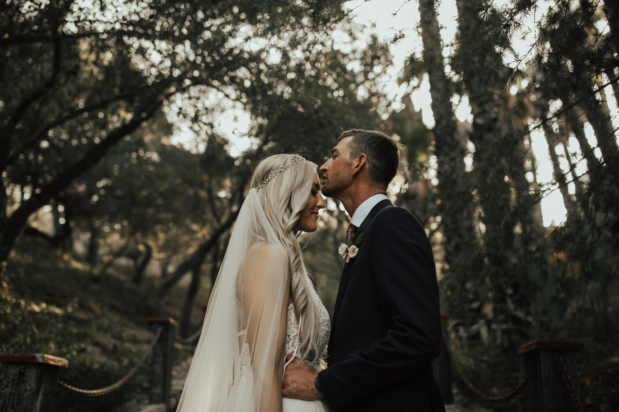 wedding portraits at rancho las lomas