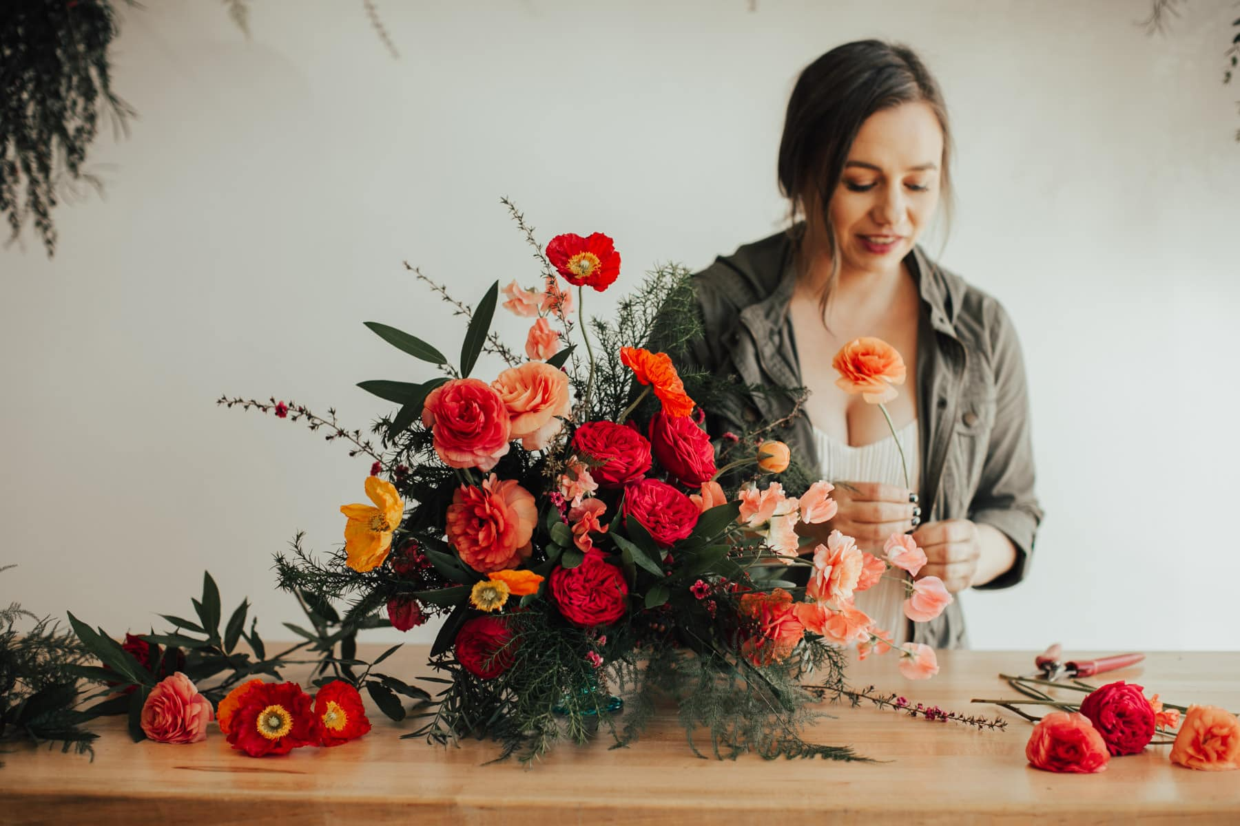 orange county wedding florist