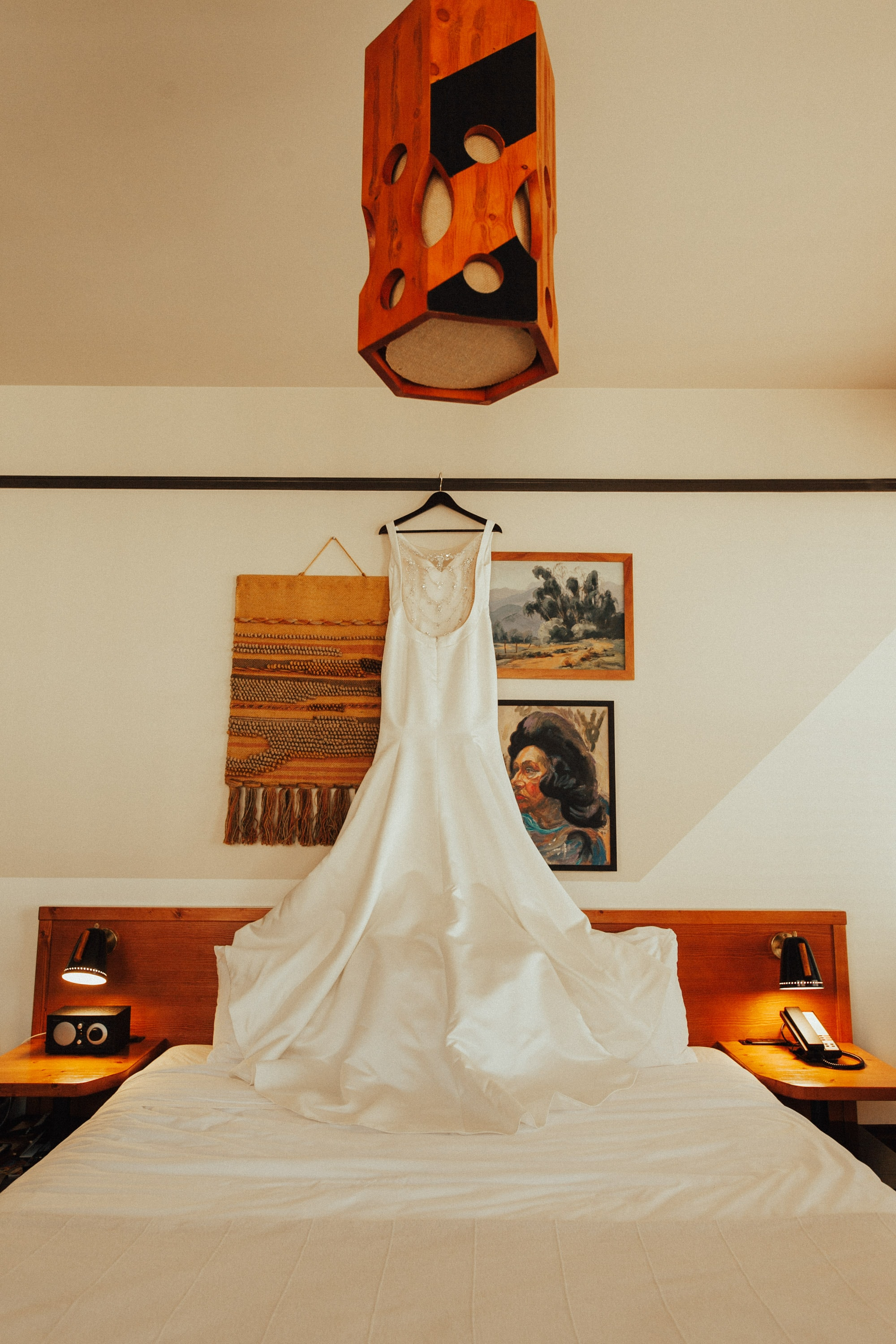 wedding dress at freehand los angeles
