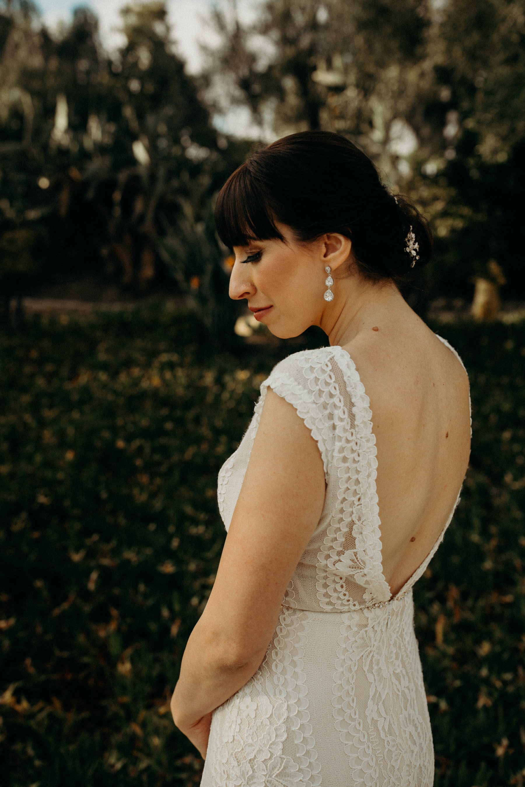 bridal portrait at Leo Carrillo Ranch