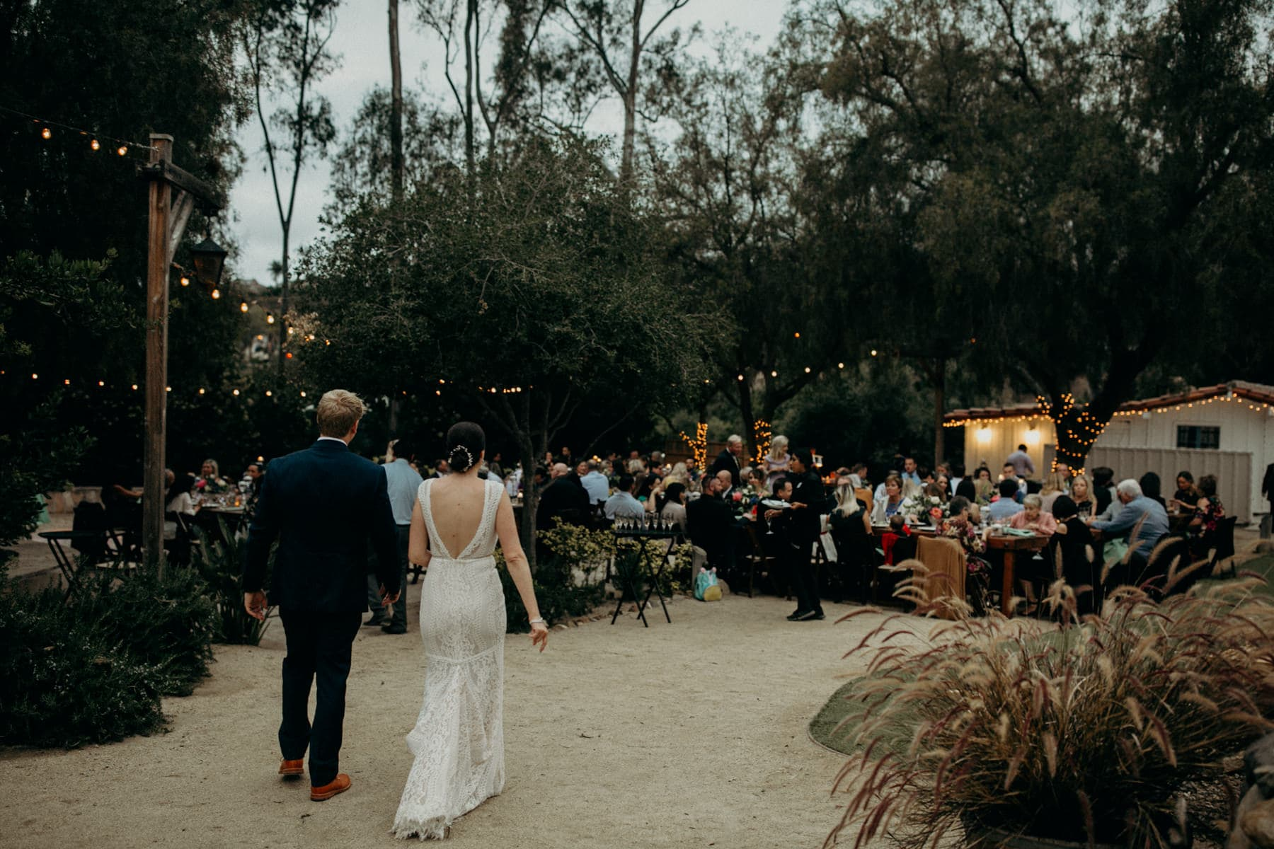 wedding reception at leo carrillo ranch