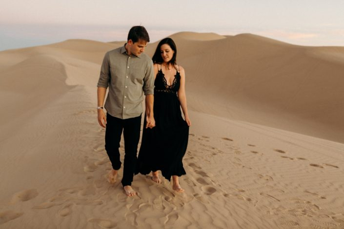 imperial sand dunes engagement session