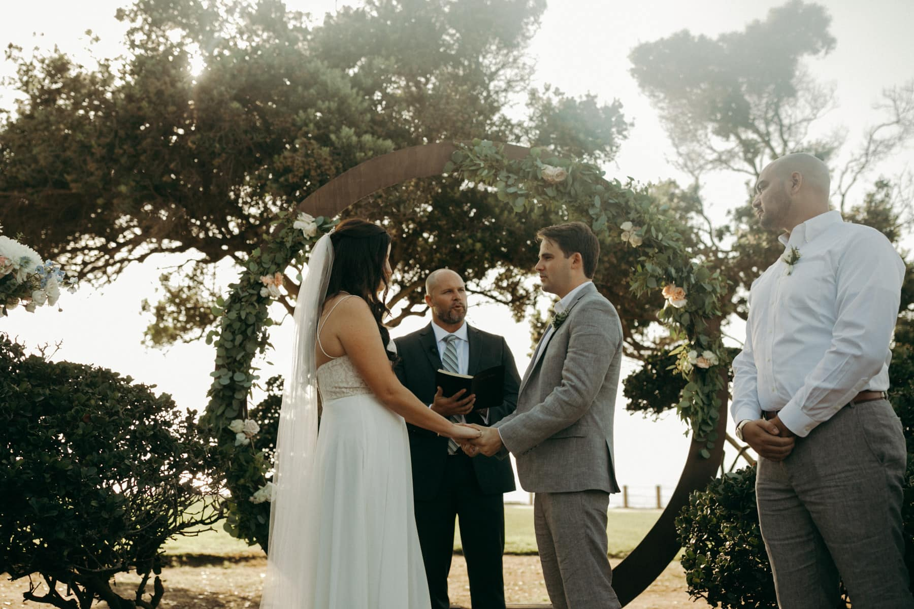 destination wedding at ellen browning scripps park
