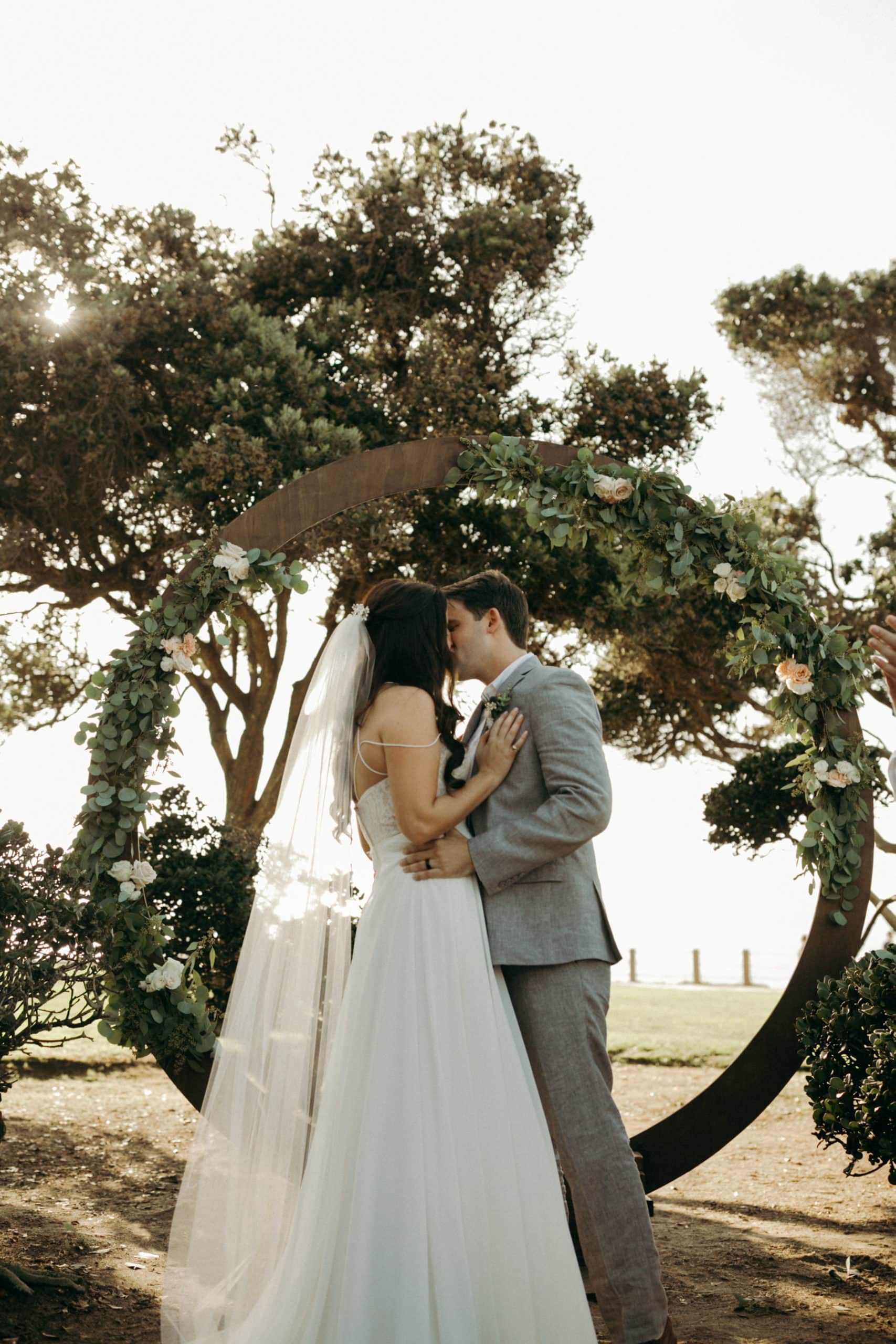 Ellen Browning Scripps Park Intimate Destination Wedding
