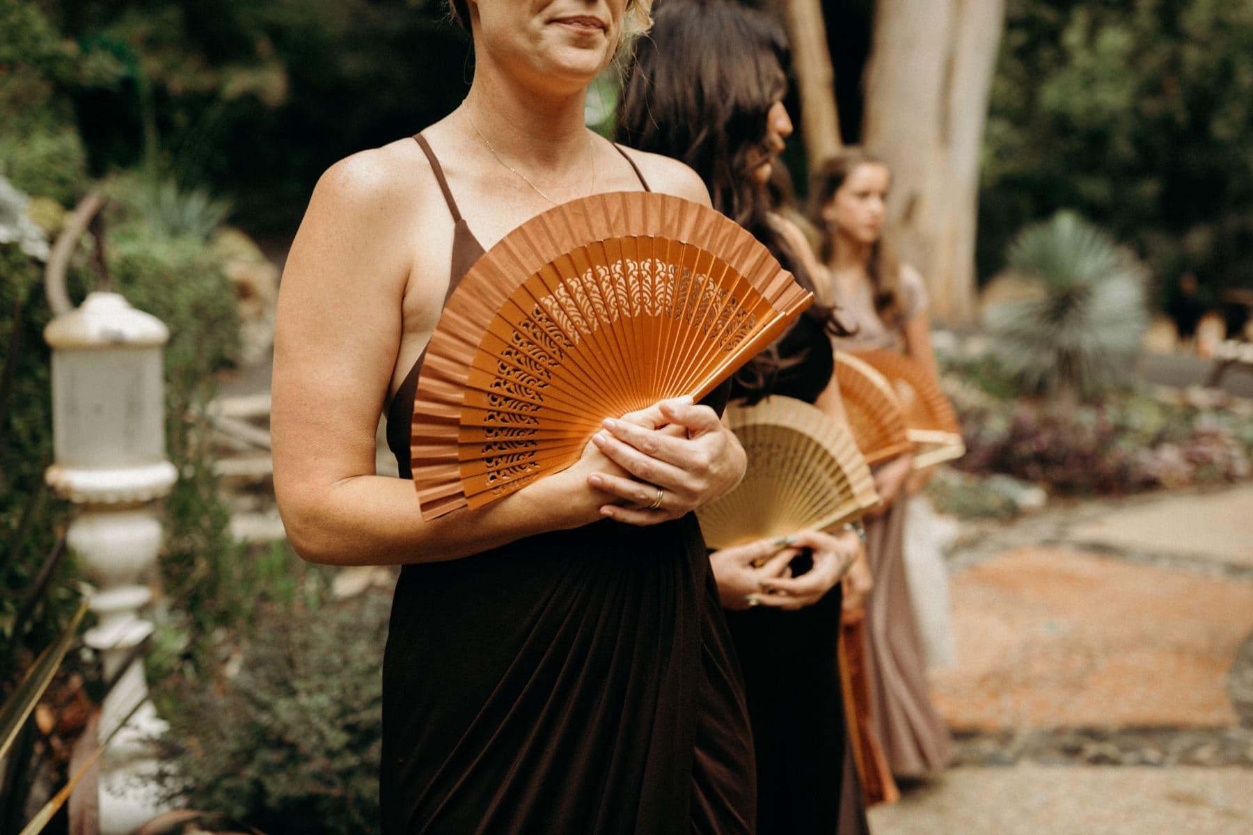 """paper fan for bridesmaids """"bouquet"""""""