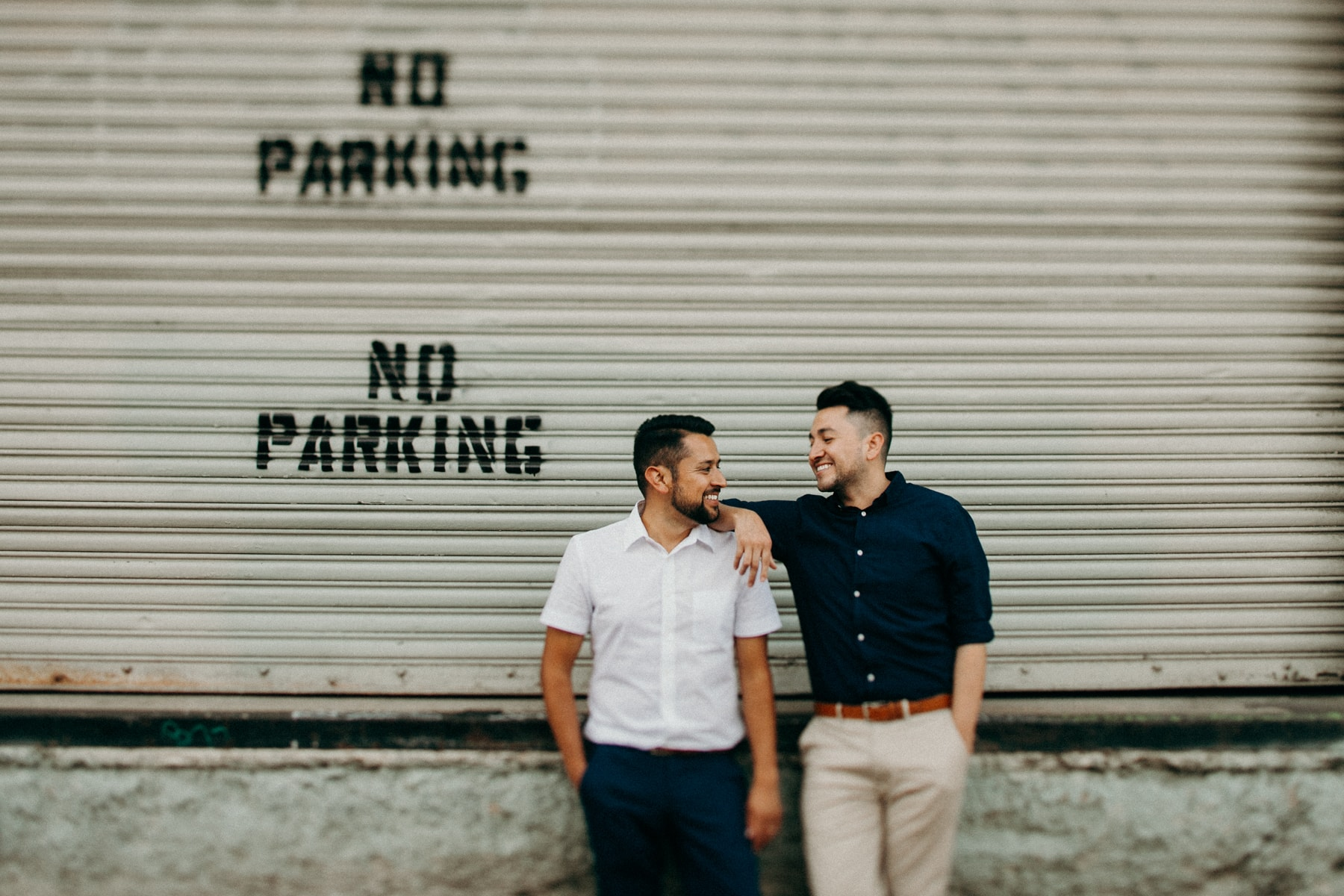 same sex gay los angeles engagement