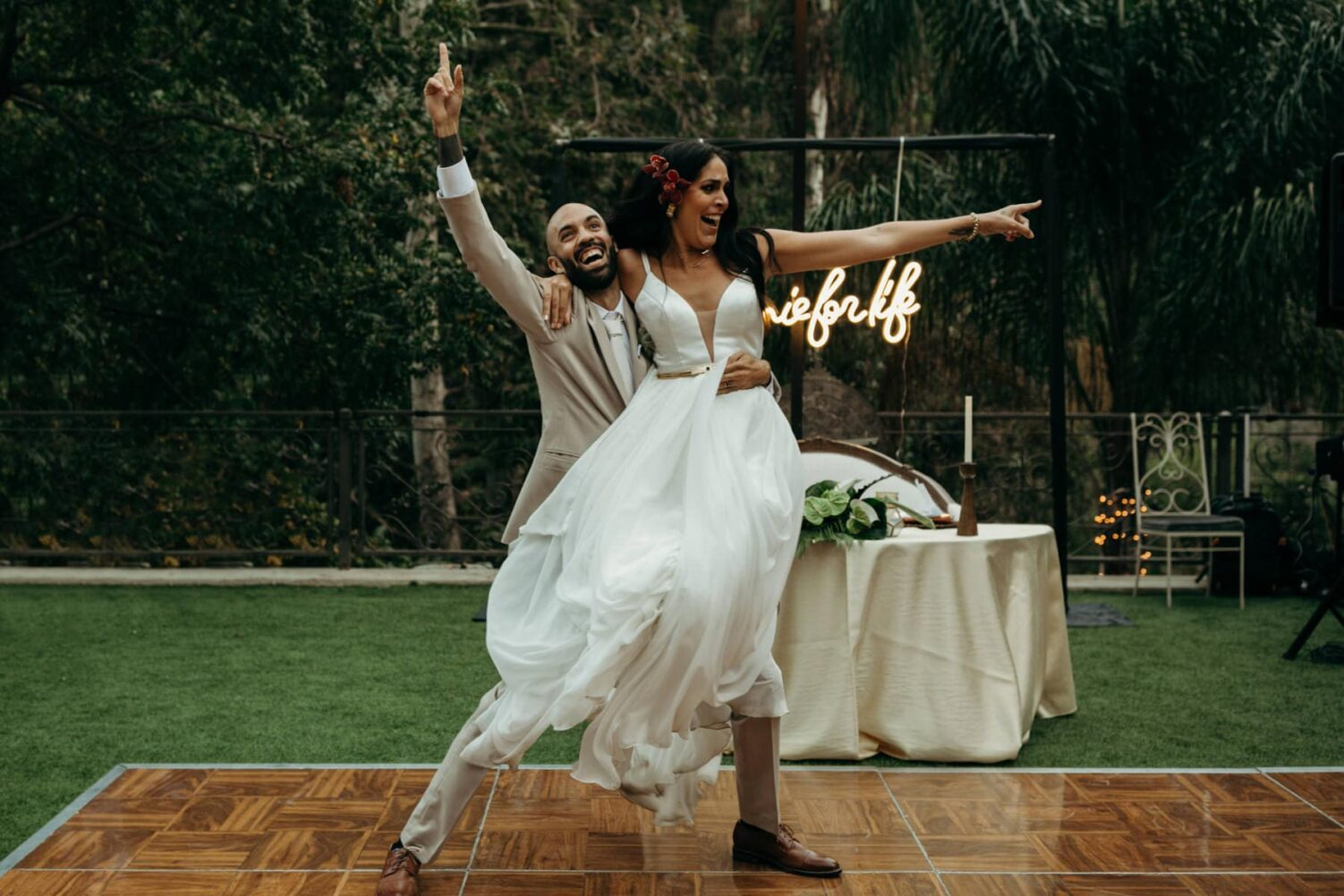 los angeles houdini estate wedding